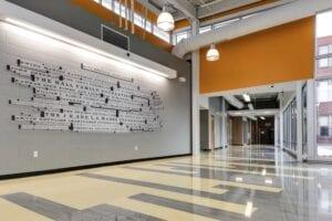 DeLa Salle-Education-Center-InteriorSurface